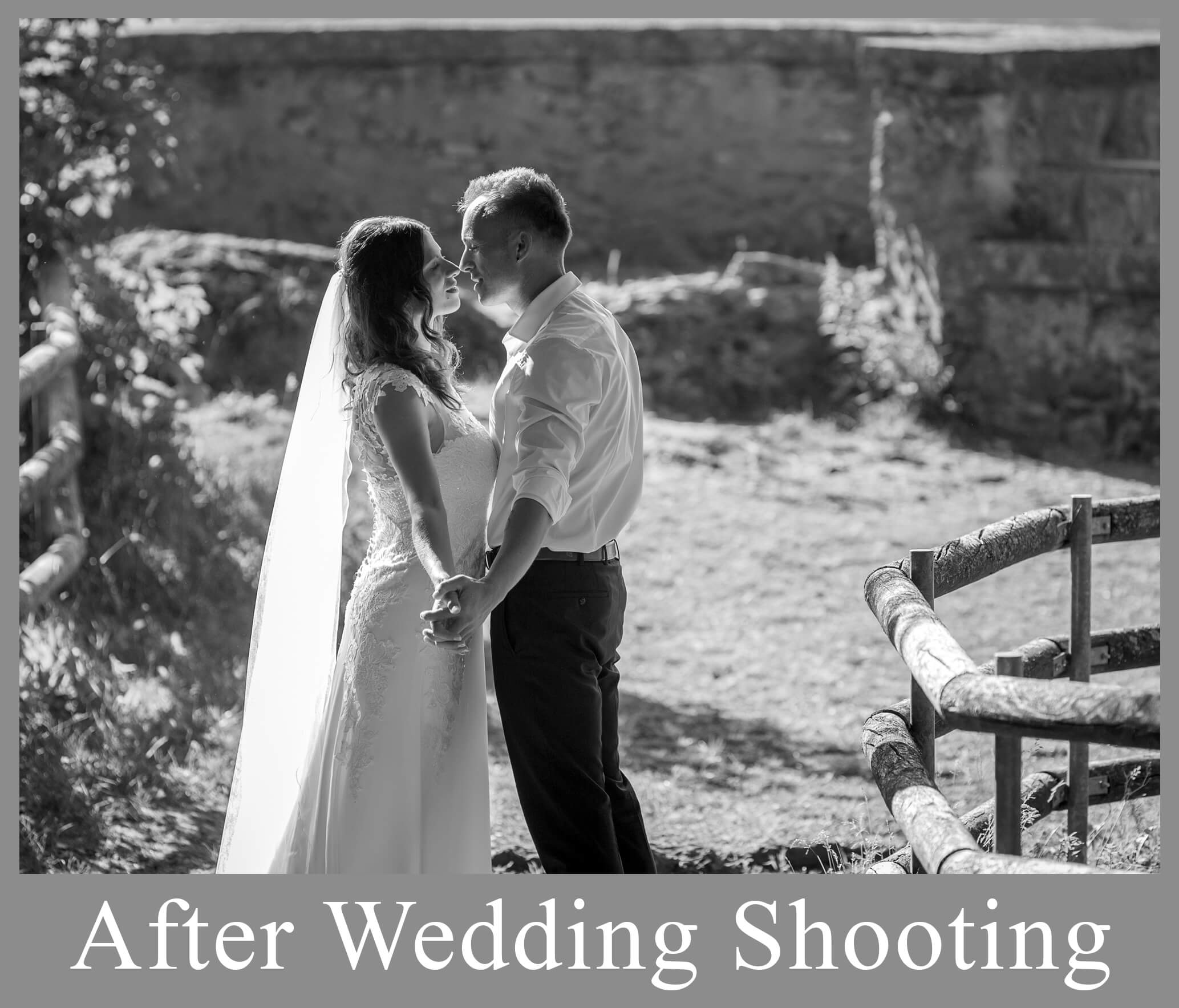After Weddingshooting