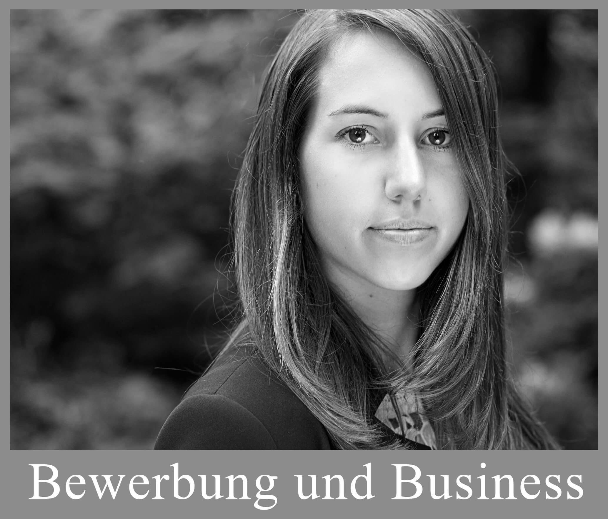 Bewerbungs und Businessfotografie
