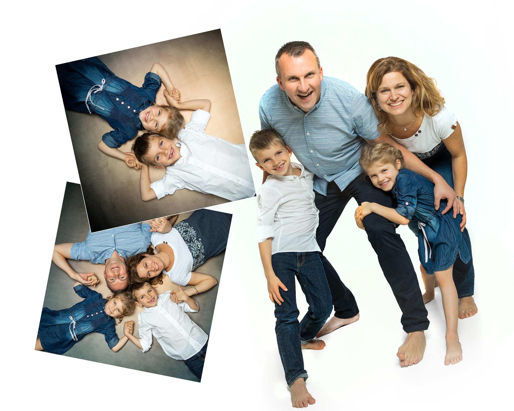 Familienfoto Portraitbilder im Fotostudio dein Weihnachtsgeschenk für deine Liebsten