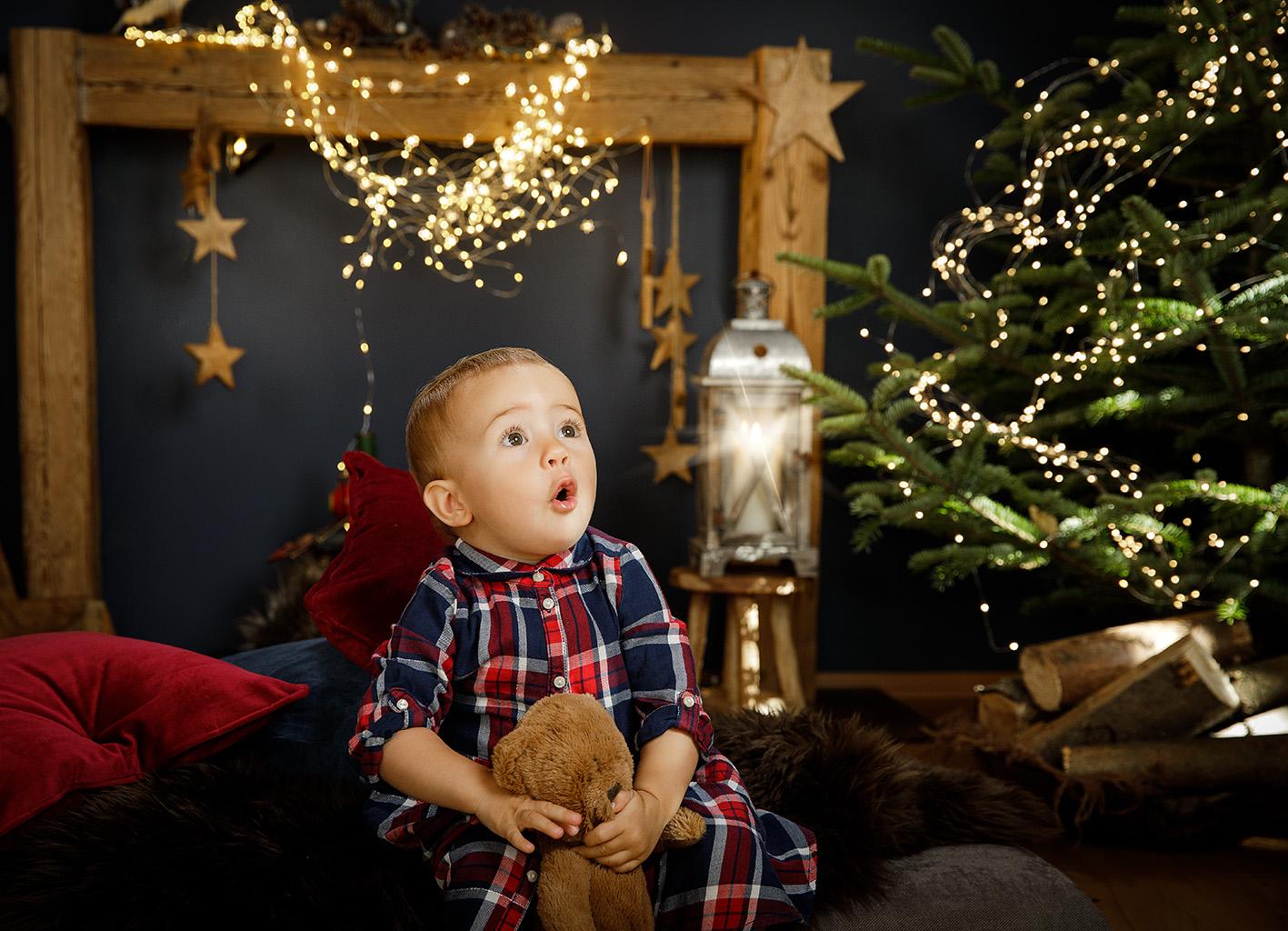 Lichterglanz zum Weihnachtsfest