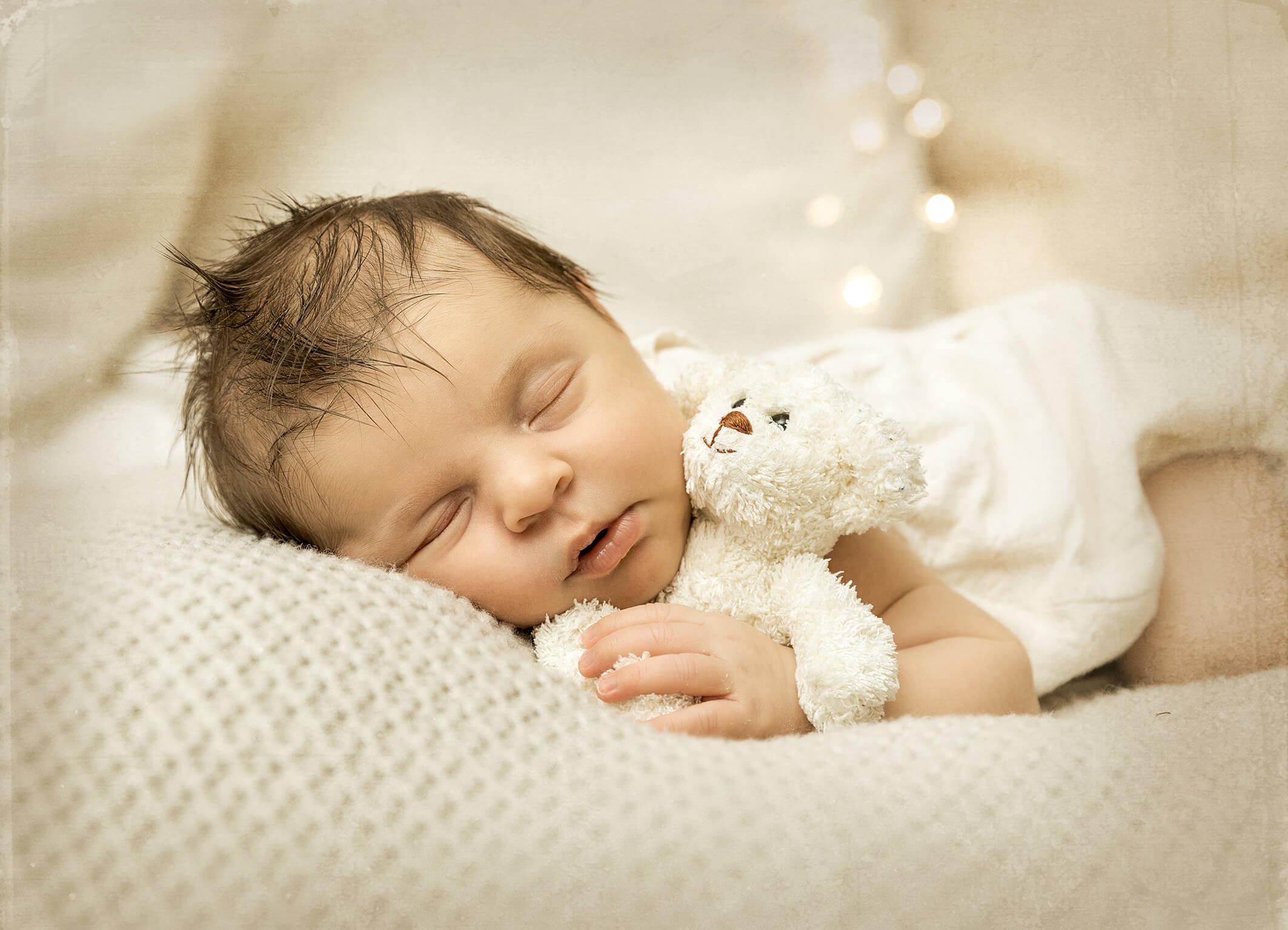 Teddy Babyfotos